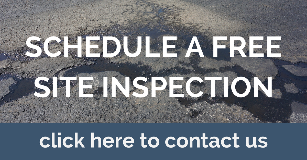 click to schedule a free site inspection